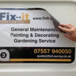Sign Writing in Bramhall